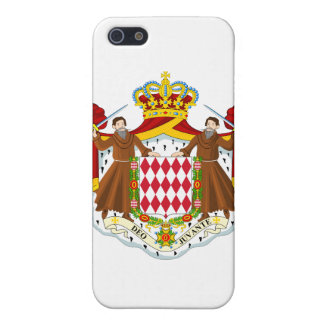 Monaco Coat Of Arms Cover For iPhone 5/5S