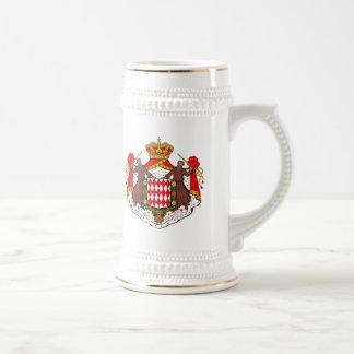 Monaco Coat of Arms Mug