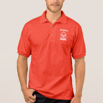 Monaco Coat of Arms Polo Shirt