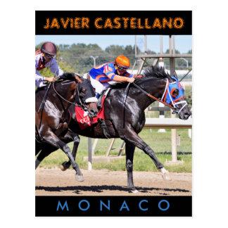 Monaco & Confederate Postcard