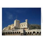 Monaco, Cote d'Azur, Prince's Palace. Greeting Card