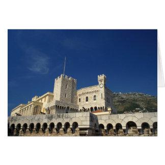 Monaco, Cote d'Azur, Prince's Palace. Card