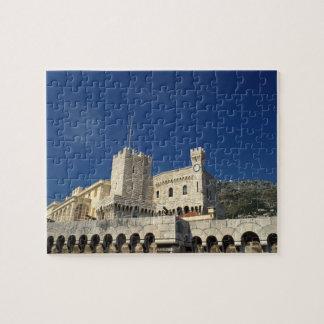Monaco, Cote d'Azur, Prince's Palace. Jigsaw Puzzle
