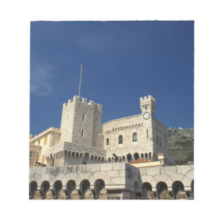 Monaco, Cote d'Azur, Prince's Palace. Notepad