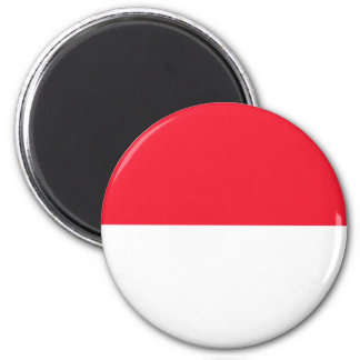 Monaco Flag Refrigerator Magnet