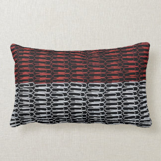 Monaco Flag of Paperclips Pillows