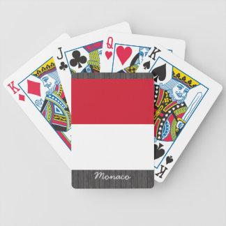 Monaco Flag Playing Cards