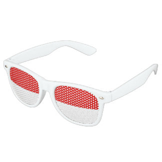 Monaco Flag Retro Sunglasses