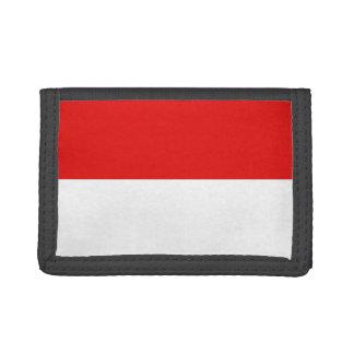 Monaco Flag Trifold Wallets