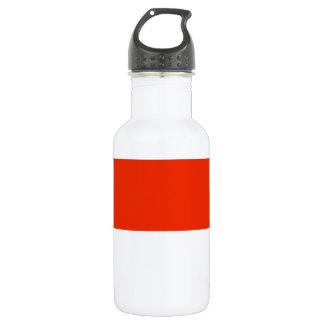 Monaco Flag Water Bottle
