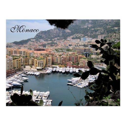 Monaco, French Riviera, France Postcards