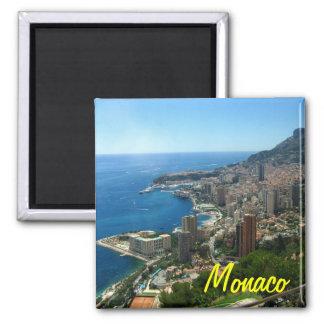 Monaco fridge magnet