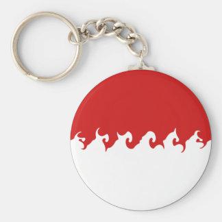 Monaco Gnarly Flag Keychain
