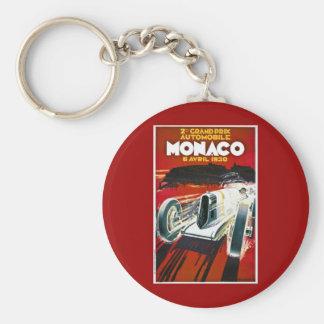 Monaco Grand Prix 1930 Keychain