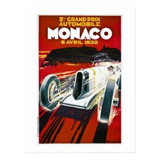 Monaco Grand Prix 1930 Postcard