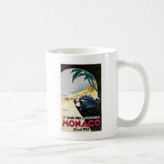 Monaco Grand Prix Automobile Coffee Mug