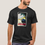 Monaco Grand Prix Car Race Travel Art T-Shirt