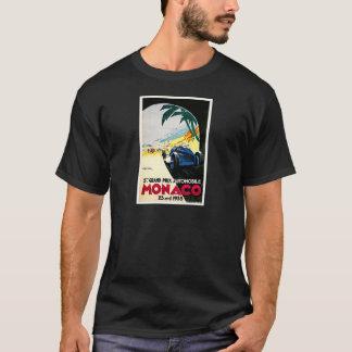 Monaco Grand Prix Car Race Travel Art T-Shirt