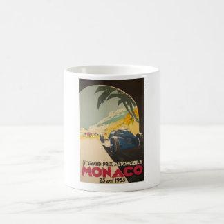 Monaco Grand Prix Poster Coffee Mug