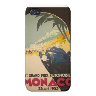 Monaco Grand Prix Poster iPhone 4/4S Cover