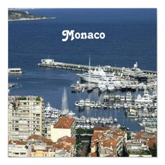 Monaco Harbor Custom Invite