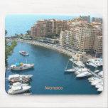 Monaco Harbor Mousepad