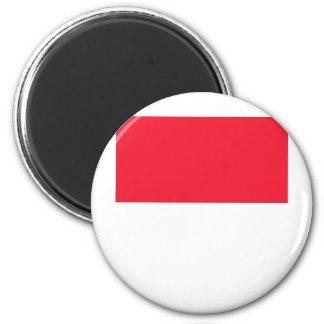 Monaco High quality Flag Magnets