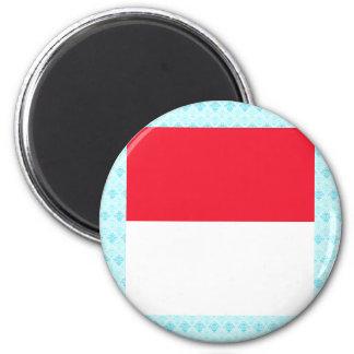 Monaco High quality Flag Fridge Magnet