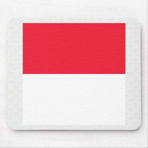Monaco High quality Flag Mouse Pad