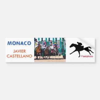 Monaco & Javier Castellano Bumper Sticker