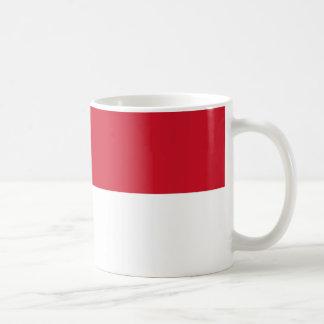 Monaco Monegasque  Flag Coffee Mug