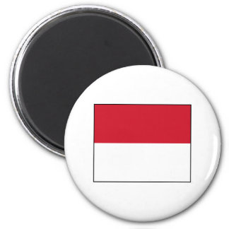 Monaco Monegasque  Flag Fridge Magnets