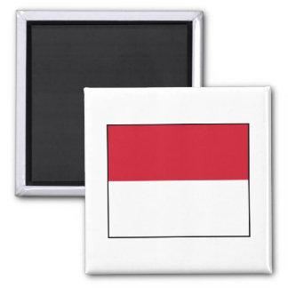Monaco Monegasque  Flag Refrigerator Magnets
