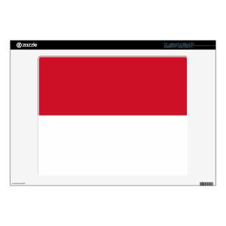 Monaco Monegasque Flag Laptop Skin