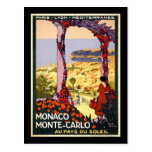 Mónaco Monte Carlo Postal