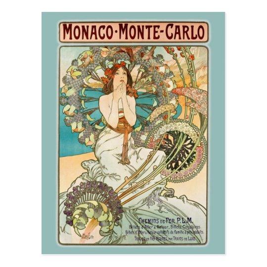 Monaco Monte-Carlo Postcard