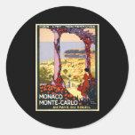 Monaco Monte Carlo Stickers
