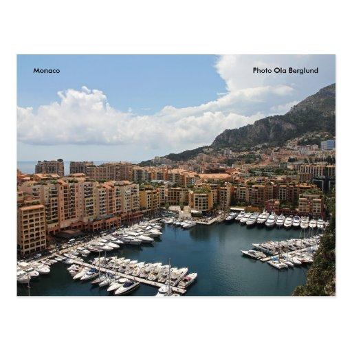 Mónaco, Ola Berglund de la foto Postales