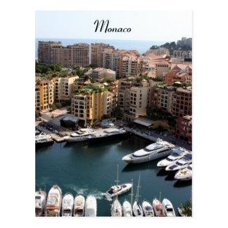 monaco port living postcard
