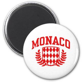 Monaco Refrigerator Magnet
