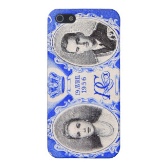 Monaco Royalty Postage Stamp iPhone iPhone SE/5/5s Cover