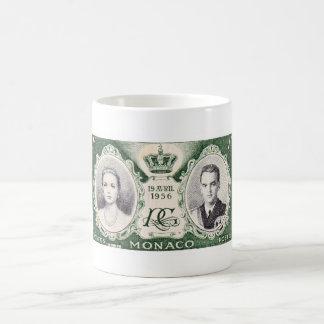 Monaco Royalty Postage Stamp Mug