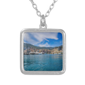 Monaco Skyline Silver Plated Necklace