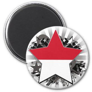 Monaco Star Refrigerator Magnets