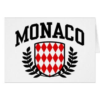 Mónaco Tarjeta De Felicitación