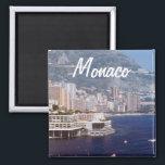 """Monaco Travel Photo Souvenir Fridge Magnets<br><div class=""""desc"""">Monaco Travel Souvenir Fridge Magnet</div>"""