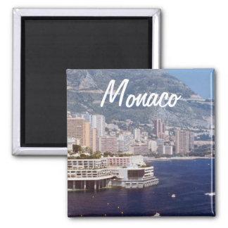 Monaco Travel Photo Souvenir Fridge Magnets