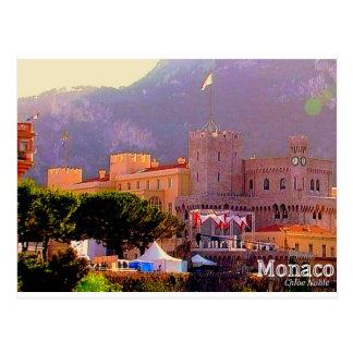 Monaco's Palace Postcard