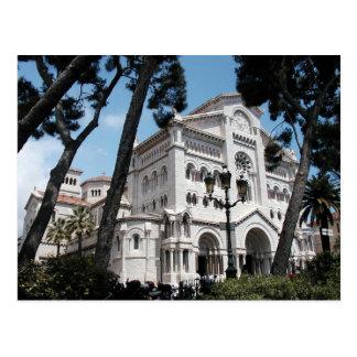 Monaco's Saint Nicholas Cathedral Postcard