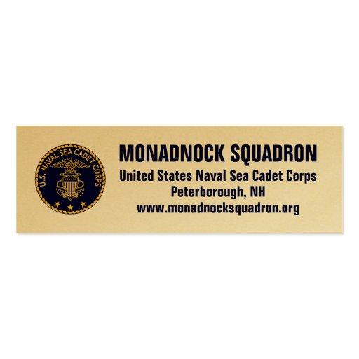 Sea Cadets Business Card Templates Bizcardstudio